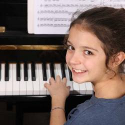 Élève au piano
